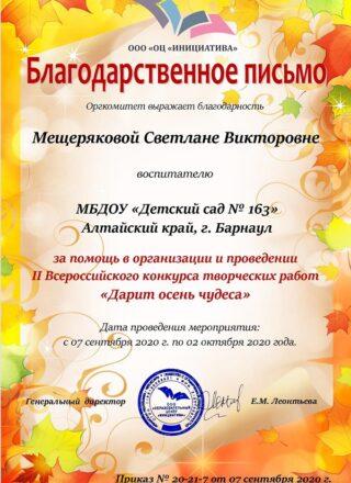 Мещерякова Светлана Викторовна (1)