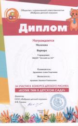 Архипова Котик Тим ноябрь 2020