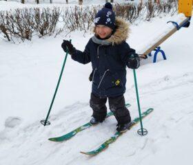 На лыжах 1